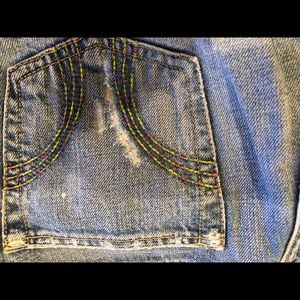 Hollister Jeans - Hollister cropped jeans with white splatter